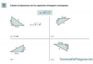 calcular hipotenusa