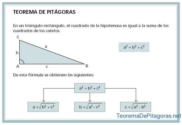 calcular hipotenusa o cateto